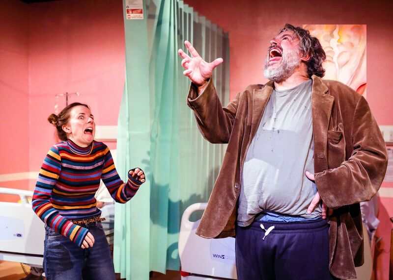 Review: ★★★ A Funny Thing Happened On The Way To The Gynaecologic Oncology Unit at Memorial Sloan Kettering Cancer Centre of New York City, Finborough Theatre