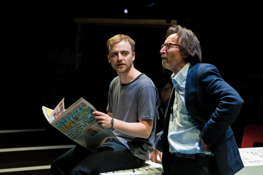 Review: ★★★★ #WEAREARRESTED, Arcola Theatre